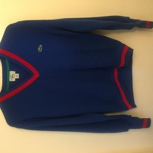Vintage Izod Lacoste Men's Tennis Sweater (SMALL)